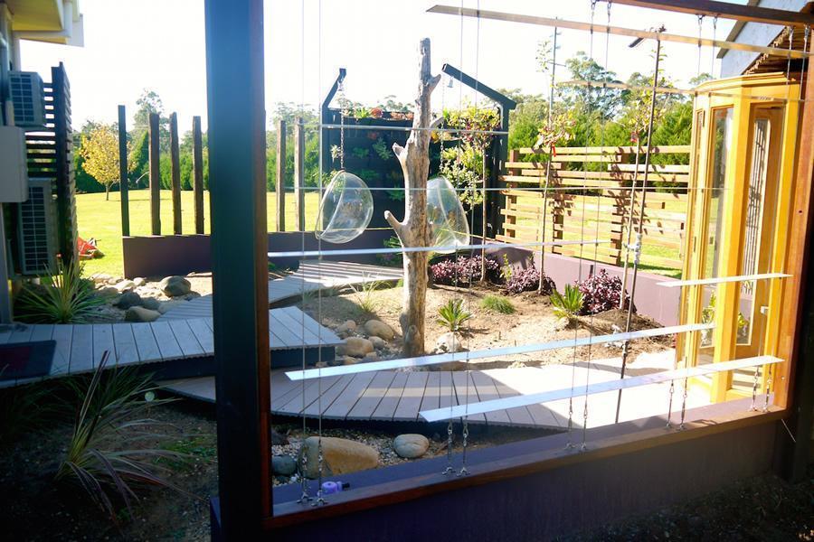Feature wall idea garden