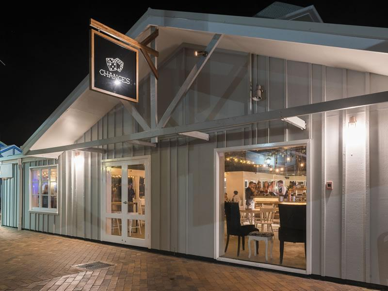 Chances bar & restaurant Refurbishment Sunshine Coast