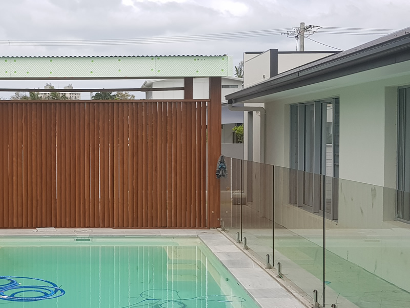 Swimming Pool Feature Fencing